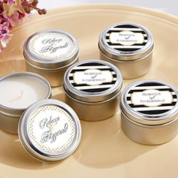 Personalized Travel Candle – Classic