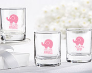 Personalized Shot Glass/Votive Holder - Little Peanut