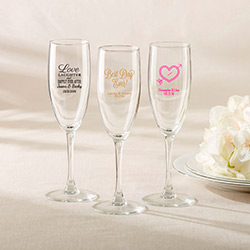 Personalized Champagne Flute – Wedding
